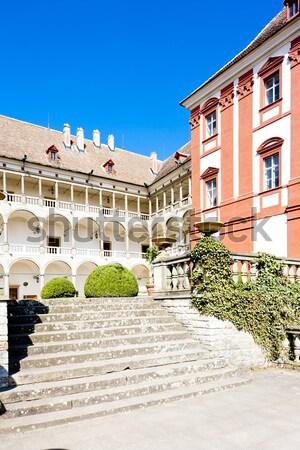дворец саду снизить Австрия здании путешествия Сток-фото © phbcz