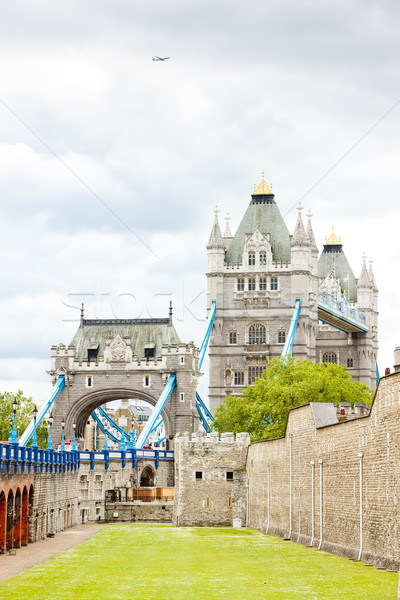 Tower of London and Tower Bridge, London, Great Britain Stock photo © phbcz