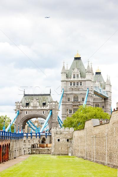 Torre Londres Tower Bridge grã-bretanha edifício cidade Foto stock © phbcz