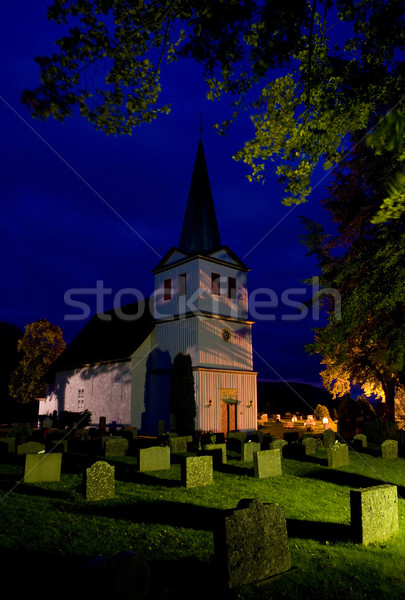 church, Nes, Norway Stock photo © phbcz