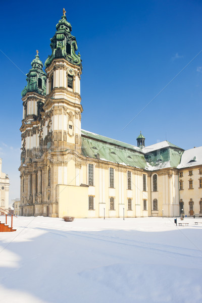 pilgrimage church in Krzeszow, Silesia, Poland Stock photo © phbcz