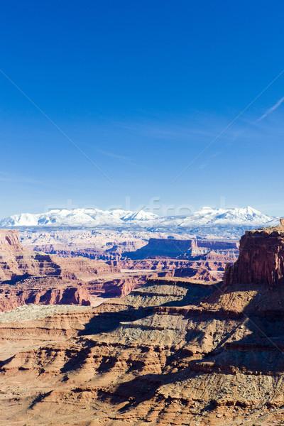 Park Utah USA natuur bergen rotsen Stockfoto © phbcz