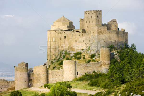 Loarre Castle, Huesca Province, Aragon, Spain Stock photo © phbcz