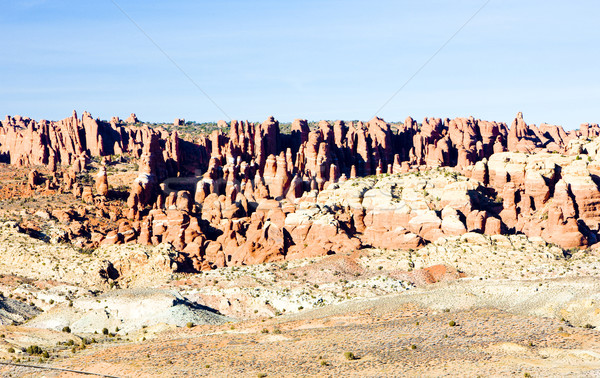 Fiery Furnace, Arches National Park, Utah, USA Stock photo © phbcz