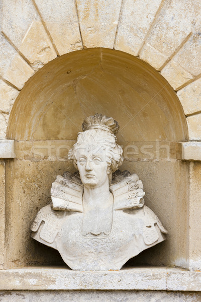 bust of Queen Elizabeth, Stowe, Buckinghamshire, England Stock photo © phbcz