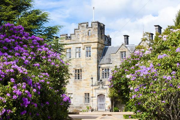 Castello Inghilterra giardino viaggio architettura Europa Foto d'archivio © phbcz