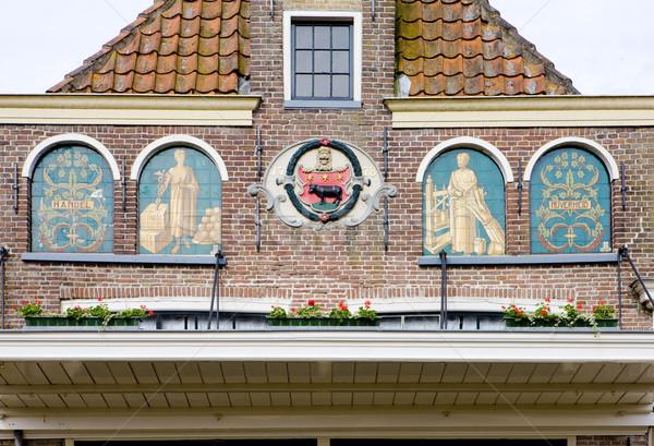 Waag's detail, Edam, Netherlands Stock photo © phbcz