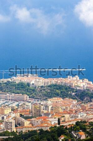 мнение Монако город морем Европа Cityscape Сток-фото © phbcz