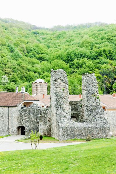 Ravanica Monastery, Serbia Stock photo © phbcz