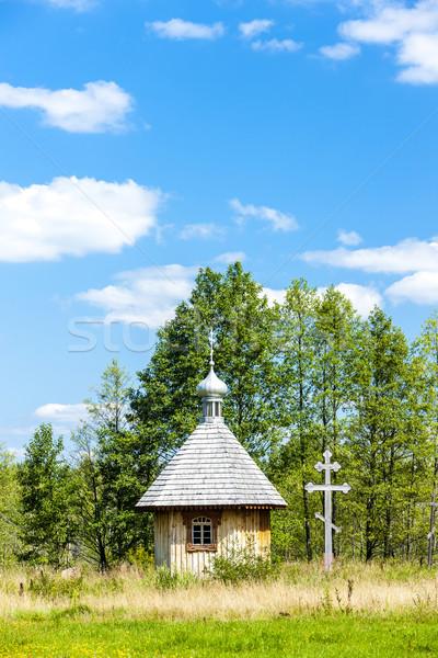 Parc culture bâtiment église Voyage Photo stock © phbcz