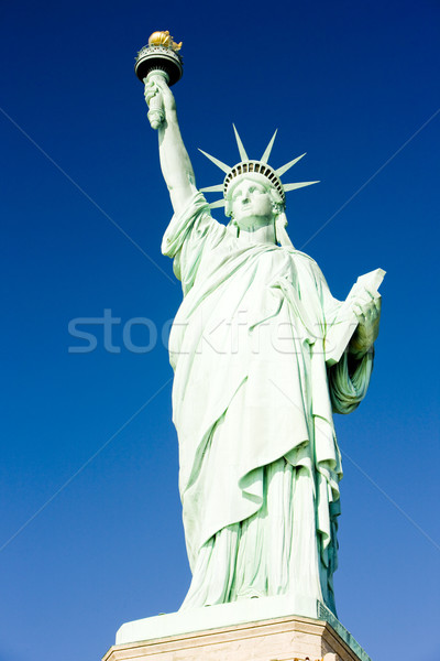 Statue Freiheit New York USA Reise Stock foto © phbcz