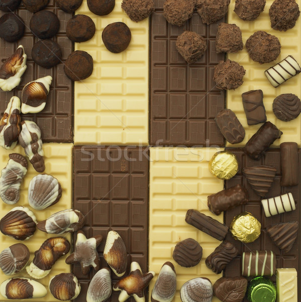 chocolate still life Stock photo © phbcz