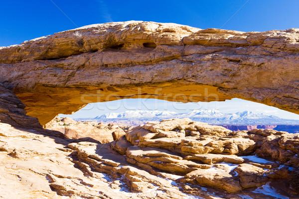 Arch. parku Utah USA krajobraz ciszy Zdjęcia stock © phbcz