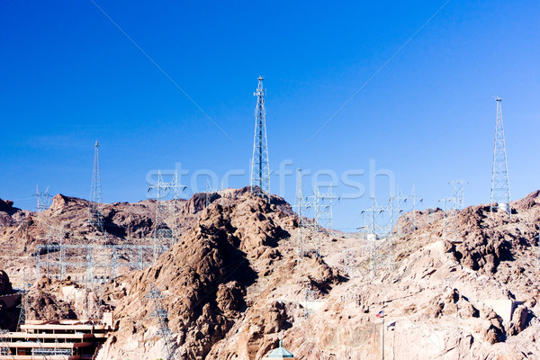 Hoover Dam surroundings, Arizona-Nevada, USA Stock photo © phbcz