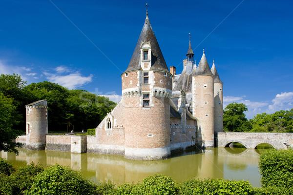 Chateau du Moulin, Lassay-sur-Croisne, Centre, France Stock photo © phbcz