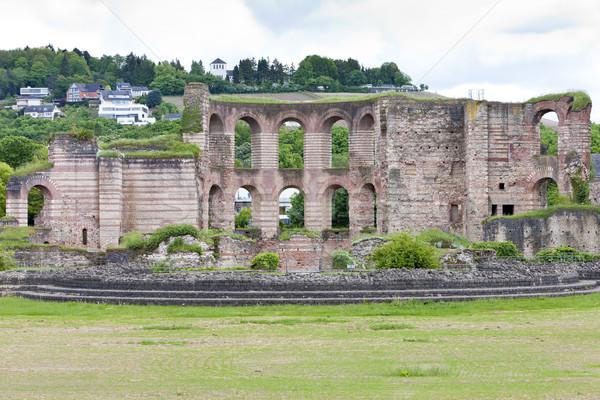 The Imperial Roman Baths, Trier, Rhineland-Palatinate, Germany Stock photo © phbcz