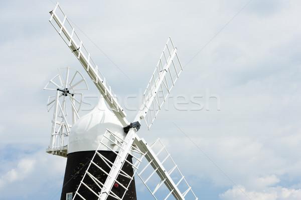 Stretham Windmill, East Anglia, England Stock photo © phbcz
