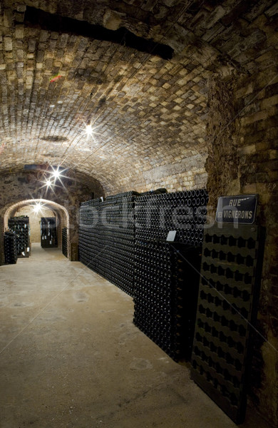 Janisson Baradon Champagne Winery,  Stock photo © phbcz