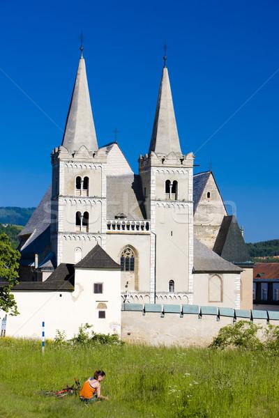 Cathedral of St. Martin, Chapter Spisska, Slovakia Stock photo © phbcz