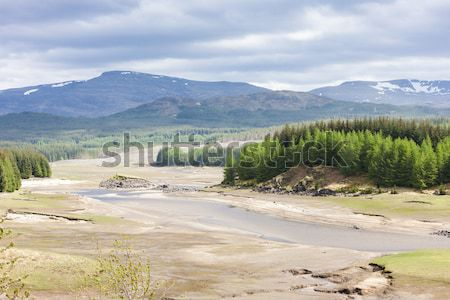 Manzara dağlık İskoçya dağlar göl Avrupa Stok fotoğraf © phbcz