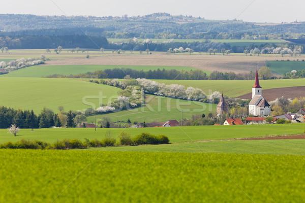 República Checa igreja europa cenário ao ar livre Foto stock © phbcz