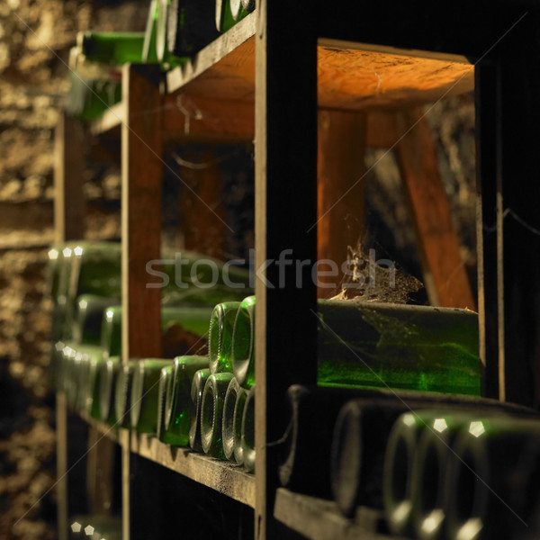 wine archive, wine cellar, Litomerice, Czech Republic Stock photo © phbcz