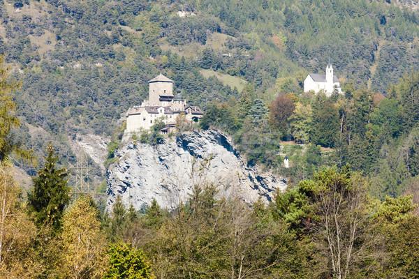 Rhazuns Castle, canton Graubunden, Switzerland Stock photo © phbcz