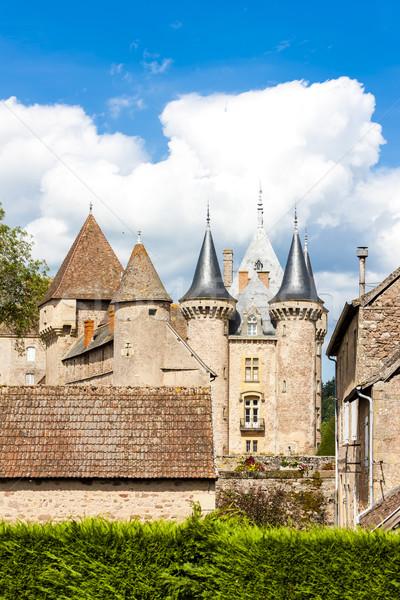 La Francja podróży zamek architektury historii Zdjęcia stock © phbcz