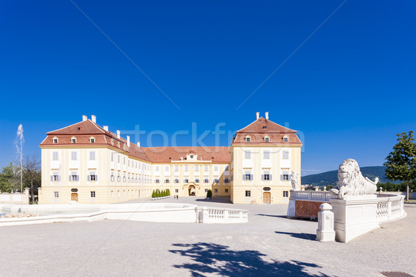 Palace Hof, Lower Austria, Austria Stock photo © phbcz