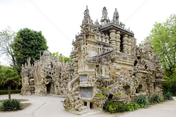 Gebouw architectuur fantasie vreemd outdoor Stockfoto © phbcz