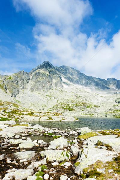 Five Spis Tarns, High Tatras (Vysoke Tatry), Slovakia Stock photo © phbcz