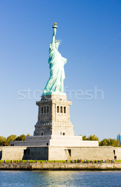 Foto stock: Estatua · libertad · Nueva · York · EUA · viaje · escultura