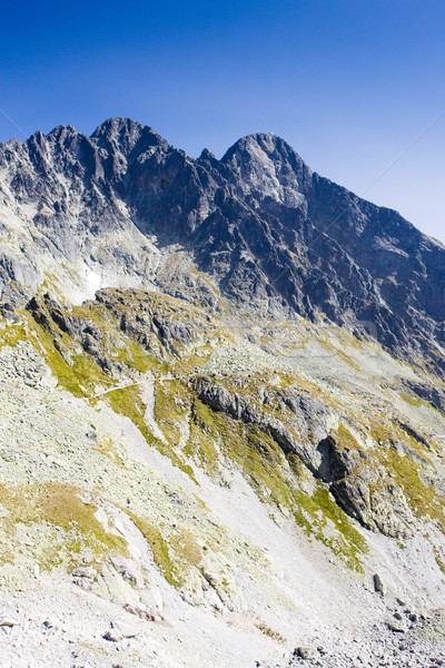 surroundings of Priecne gap, Vysoke Tatry (High Tatras), Slovaki Stock photo © phbcz