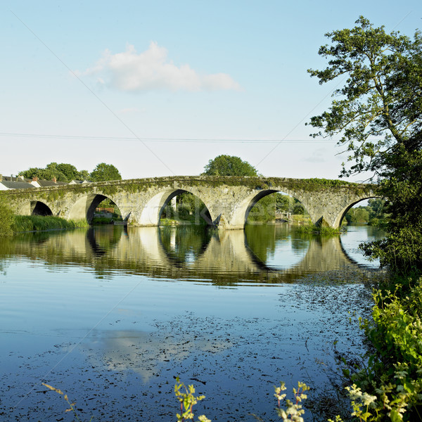 bridge, Bennettsbridge, County Kilkenny, Ireland Stock photo © phbcz