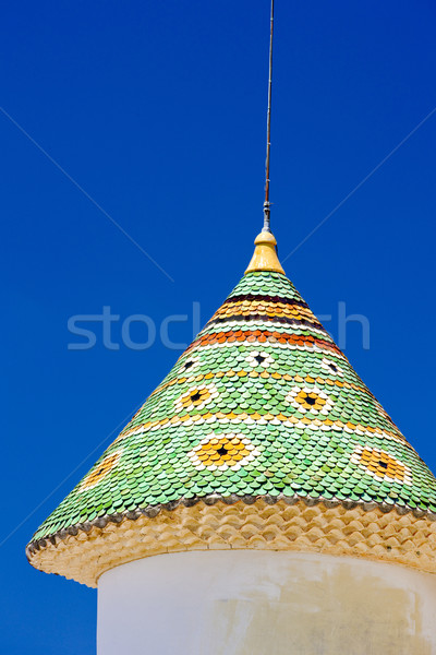 chateau''s detail in Aiguines, Var Departement, Provence, France Stock photo © phbcz