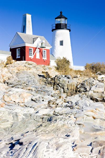Zdjęcia stock: Latarni · punkt · świetle · Maine · USA · budynku