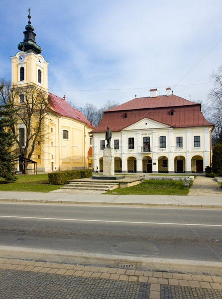town hall with museum, Brezno, Slovakia Stock photo © phbcz