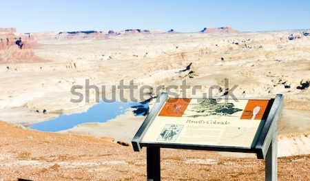 Green River, Canyonlands National Park, Utah, USA Stock photo © phbcz