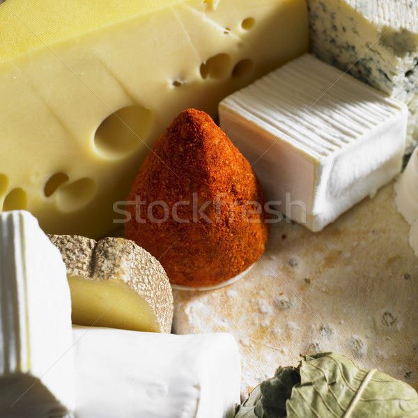 cheese still life Stock photo © phbcz