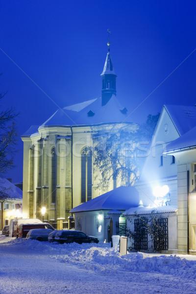 Church of Saint Roch, Prague, Czech Republic Stock photo © phbcz