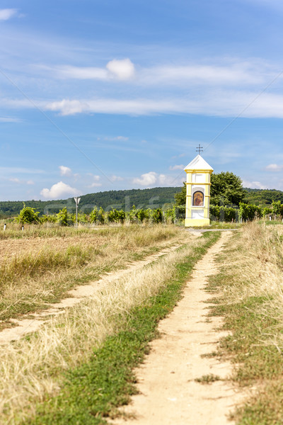 Vignoble baisser Autriche paysage architecture chemin Photo stock © phbcz
