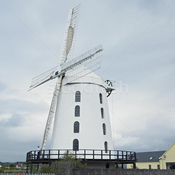 Windmolen Ierland reizen molen outdoor een Stockfoto © phbcz