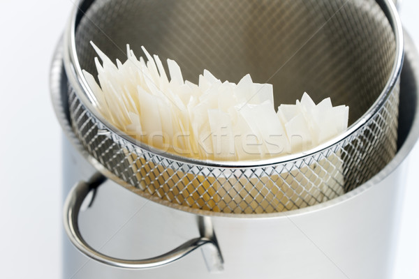 rice noodles in pot Stock photo © phbcz