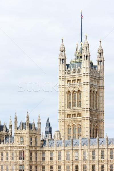 Häuser Parlament London Großbritannien Stadt Architektur Stock foto © phbcz