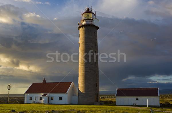 lighthouse, Lista, Norway Stock photo © phbcz
