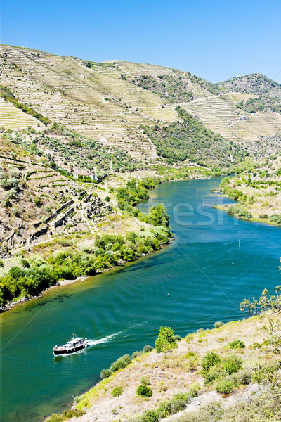 ship in Douro Valley, Portugal Stock photo © phbcz