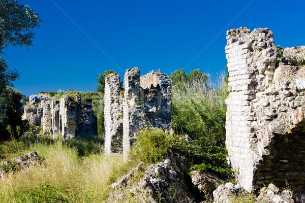 Ruínas romano França edifícios arquitetura europa Foto stock © phbcz