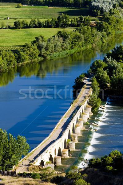 Stock photo: Roman bridge, Toro, Zamora Province, Castile and Leon, Spain
