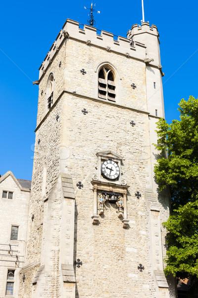 башни Оксфорд Оксфордшир Англии Церкви архитектура Сток-фото © phbcz