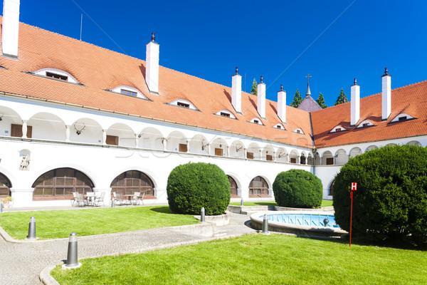 Topolcianky Palace, Slovakia Stock photo © phbcz